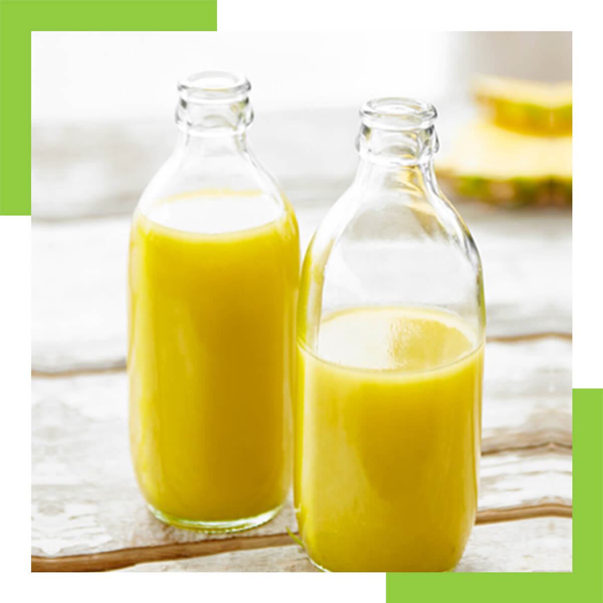 A Glass of Juice after Meals