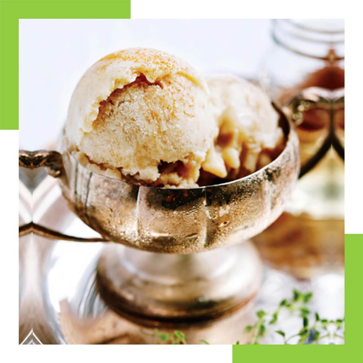 Banana Honey Ice Cream